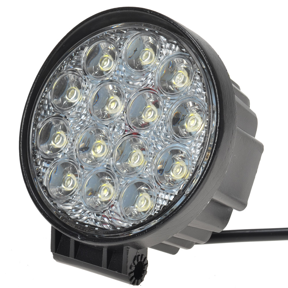 Kawell 174 42w Round 4 5 Quot Dc 9 32v 6000k 2700lm Led For Atv