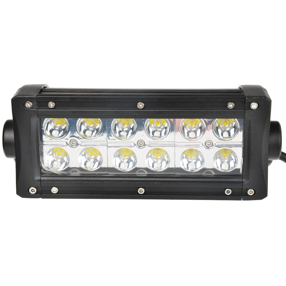 KAWELL® Off Road 36W White and Amber Spot Beam Light Bar