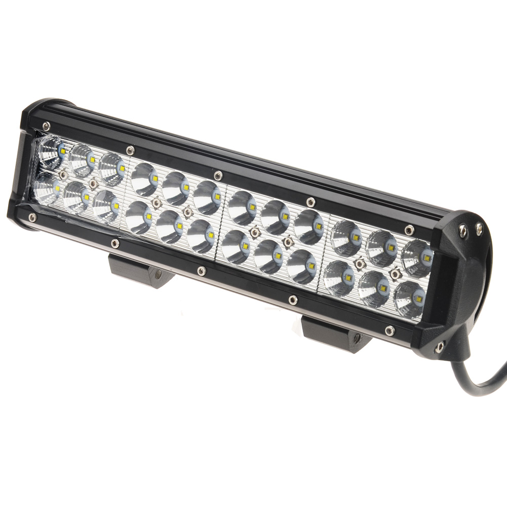 Kawell 12 cree dc 9 32v 6000k 5040lm led for atvjeepboatsuv waterproof led spot and flood combo beam work light bar kawell 12 mozeypictures Choice Image