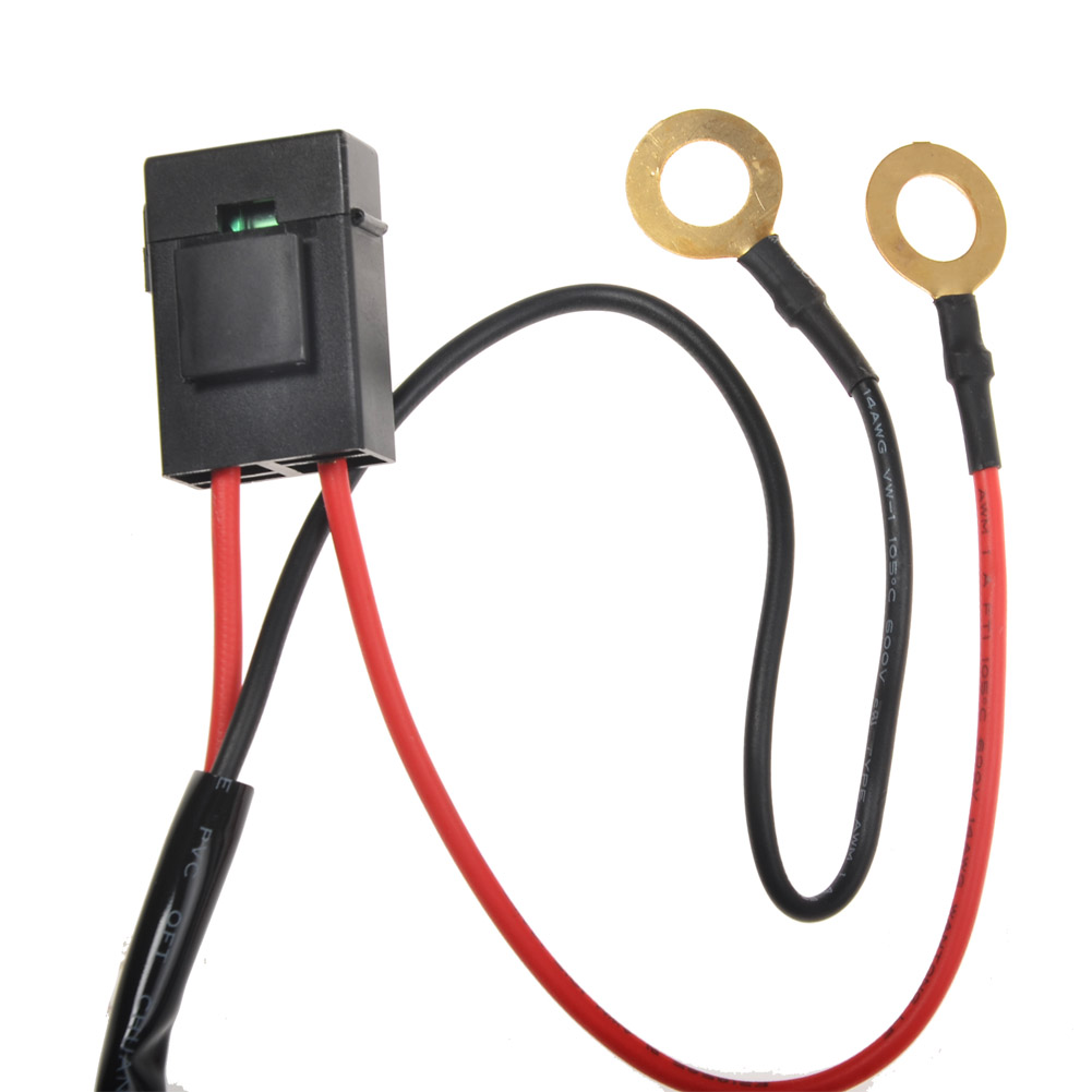 Kawell 1 Leg Wiring Harness Include Switch Kit Support 300w Led Light And