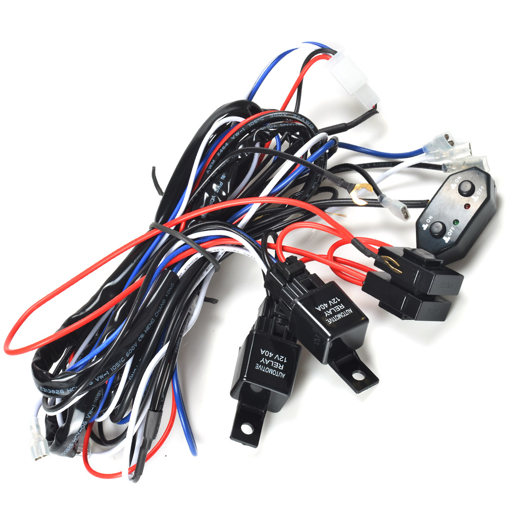 64_P_1406801363626 kawell� 2 legs plug and play remote control supporting 300w led Off-Road Light Wiring Harness at n-0.co