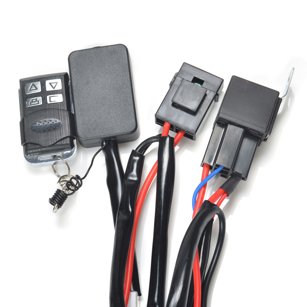 65_P_1406801507389 kawell� 1 leg plug and play remote control with normal and Off-Road Light Wiring Harness at n-0.co