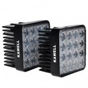 KAWELL® 2 Pack 48W Square 4.3