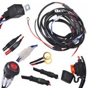 KAWELL® 2 Legs Wiring Harness Include Switch Kit Suppot 300W LED work ...