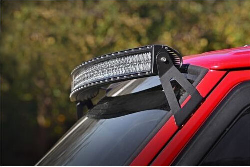 KAWELL 2004-2014 Ford F150 54 inch Curved LED Light Bar Mountng Bracket Accessories Kit