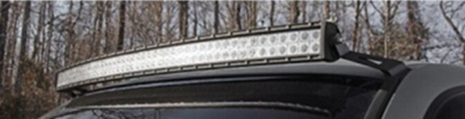 KAWELL 1999-2006 GM Uper Windshield Mounting Bracket Accessories Kit for 50 inch Curved LED Light Bar