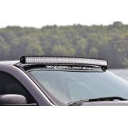 KAWELL 54-inch Curved LED Light Bar Upper Windshield Mounting Brackets for 2007-2013 GMC and Chevy