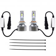 KAWELL LED Headlight Bulbs LED Headlight Conversion Kit - H11 - 80W 6,400LM 6500 Cool White OSRAM LED - Replacing H1 Halogen & HID Bulbs - 2 Yr Warranty