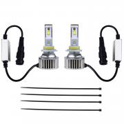 KAWELL LED Headlight Bulbs LED Headlight Conversion Kit - 9005 - 80W 6,400LM 6500 Cool White OSRAM LED - Replacing H1 Halogen & HID Bulbs - 2 Yr Warranty