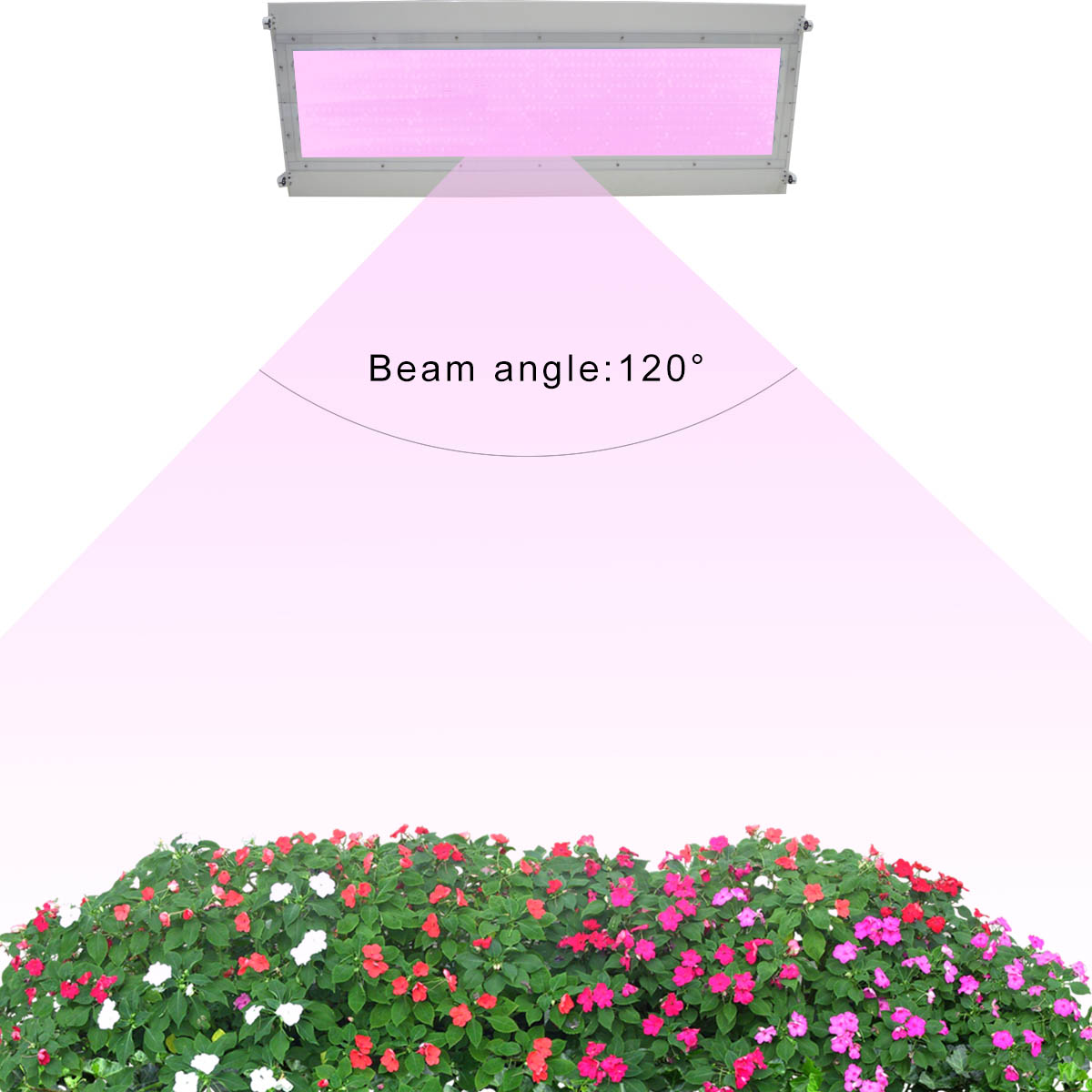 KAWELL 400W 14400lm IP42 100-277V LED Grow Light Lighting for Hydroponics Greenhouse Garden Indoor Plants Seeding Growing/Flowering