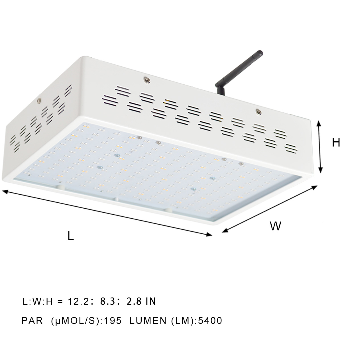 KAWELL 150W 5400lm 100277 V LED Grow Light 300 TTL Plant Growth Wireless-Dimmable Spectrum For Indoor Garden Greenhouse Plant-growing