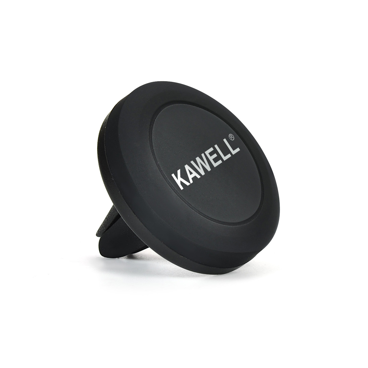 KAWELL Universal Magnetic Phone Car Mount, Air Vent Cell Phone Holder for iPhone, Samsung, Nexus other Smart Phone and GPS Etc. (Small Black)