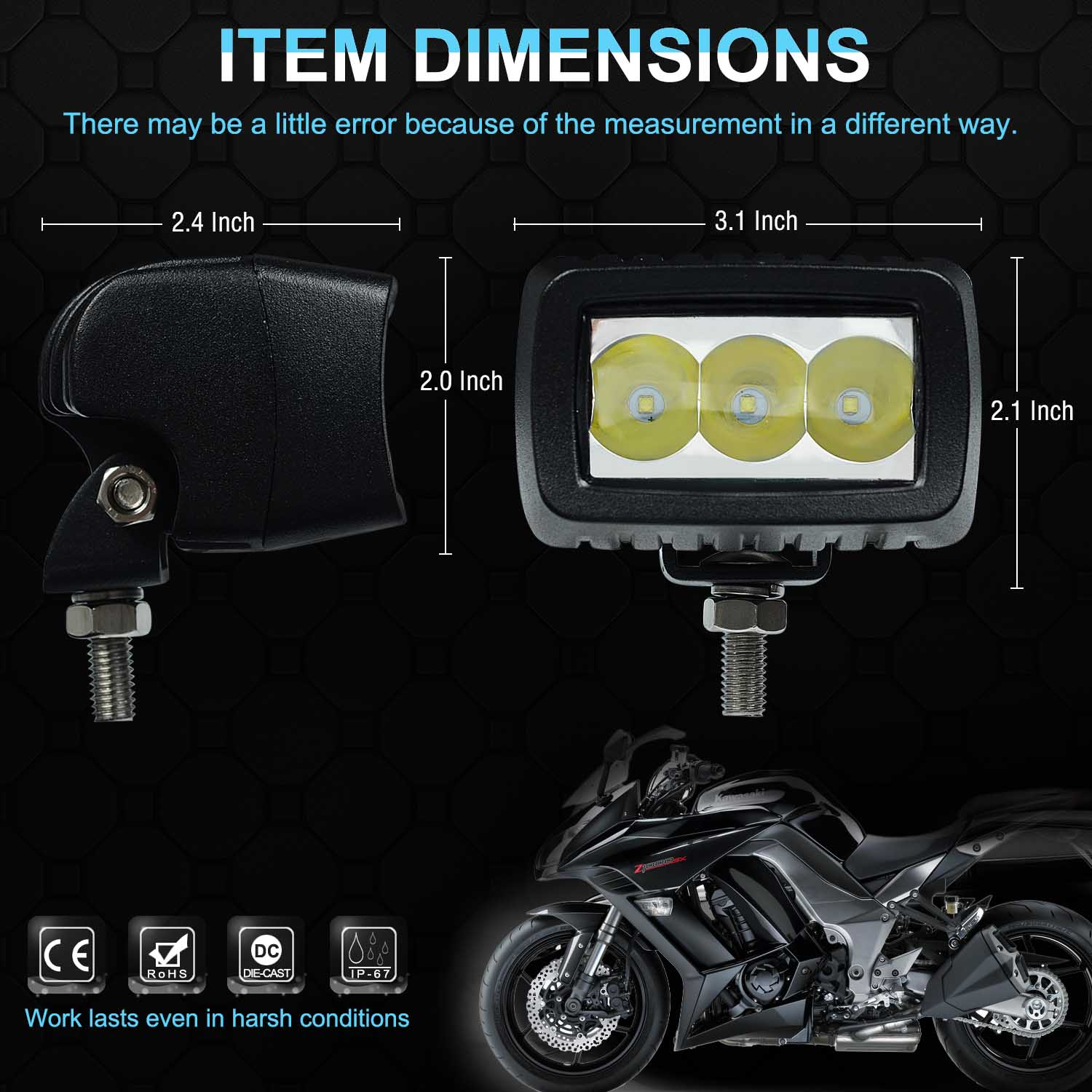 guide our lighting graphic motorcycles vehicle motorcycle headlight retro into directly and to passing cruiser denali lamp specific led housings lights your solutions electronics beam sealed mounting original modules i mount denal
