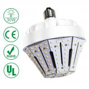 KAWELL 30W LED Garden Light,E26 4500Lm 6500K Daylight Replacement for ...