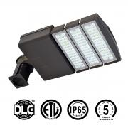KAWELL 50 Watt LED Parking Lot Light - 5500 Lumens LED Street Light – 5000K Bright White – 50,000 Hours Commercial grade – Waterproof Outdoor Site Area Shoe Box Light
