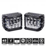 KAWELL Dual Side Shooter Led Cube 45W Led Work Light Off Road Led Ligh...