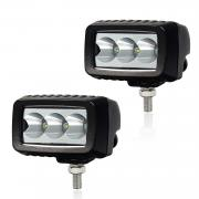 KAWELL 12W Mini Trail Lights LED CREE Spot Fog Light for Motorcycle Bi...