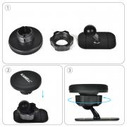 KAWELL Car Mount Holder Magnet Stand Sum Ho Tablet Hold (car, kitchen, bed, bathroom etc) 360 degrees rotatable (black)